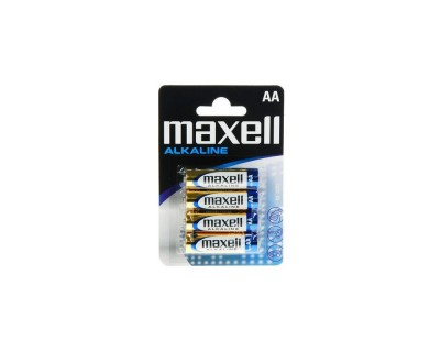 Blister 4 pilhas MAXELL...